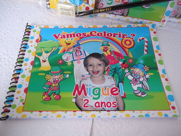 Kit Colorir Personalizado