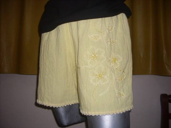 Short  Bordado Adulto G 16 Vendido