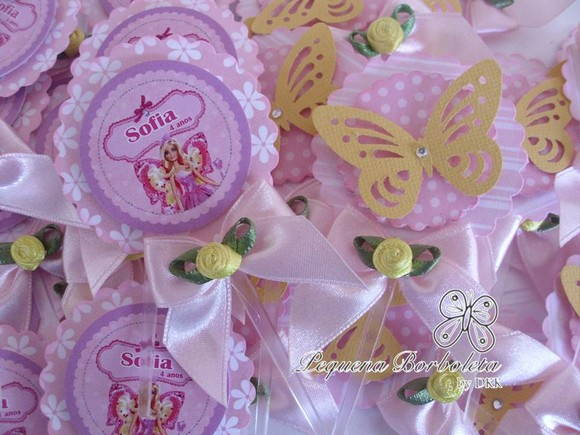 Topper Barbie Butterfly
