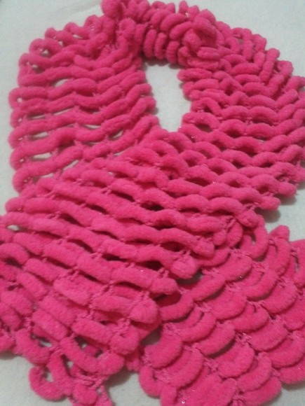 Cachecol Pink