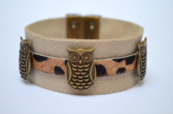 BRACELETE LITTLE OWLS