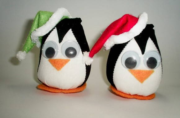 Pinguins Natalinos