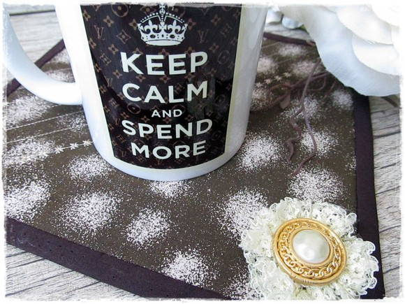 Caneca + MugRug Keep Calm Spend More