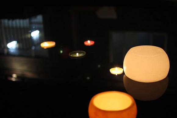 Lumin ria e vela flutuantes de piscina silarte velas elo7 for Velas flotantes piscina
