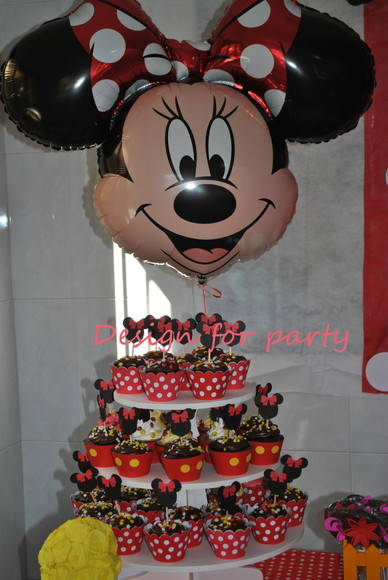 Wrapper para cupcake Minnie e Mickey