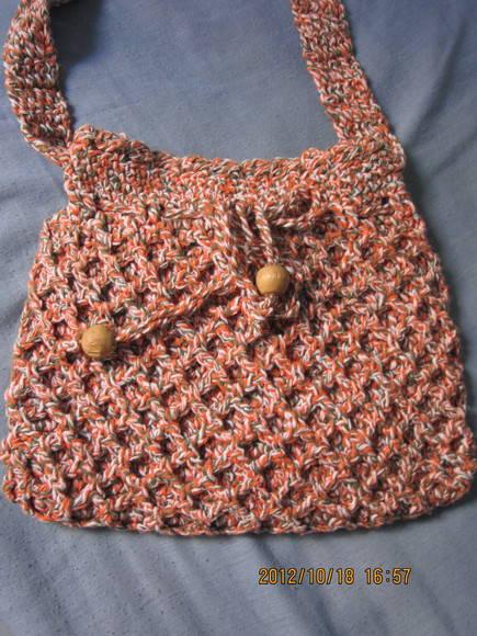 Bolsa De Mão Em Crochet : Bolsa em crochet soniartesanato elo