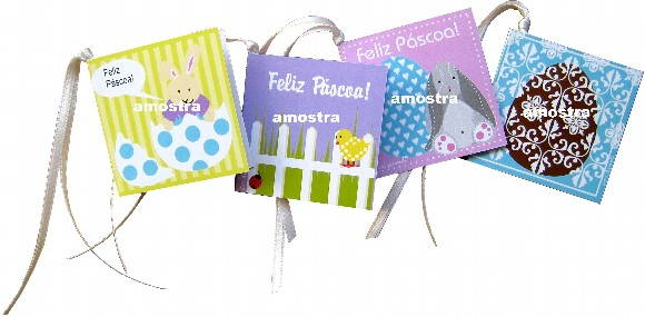 Mini cards de Páscoa