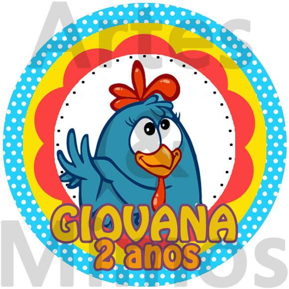 Aparador Espelhado ~ Adesivo Latinha Galinha Pintadinha no Elo7 Artes& Mimos Personalizados (285559)