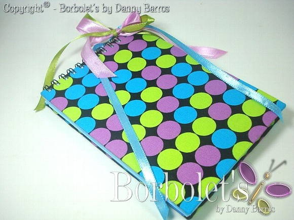 Caderneta - Fashion dots - Tc.Importado