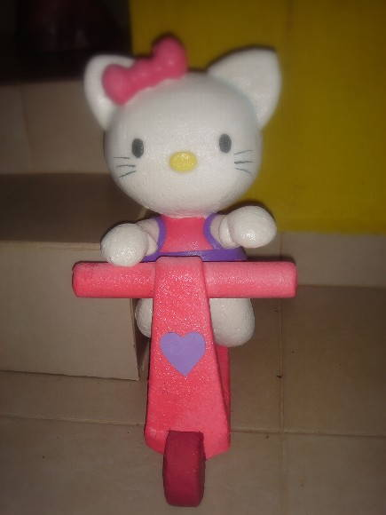 Hello kitty patinete