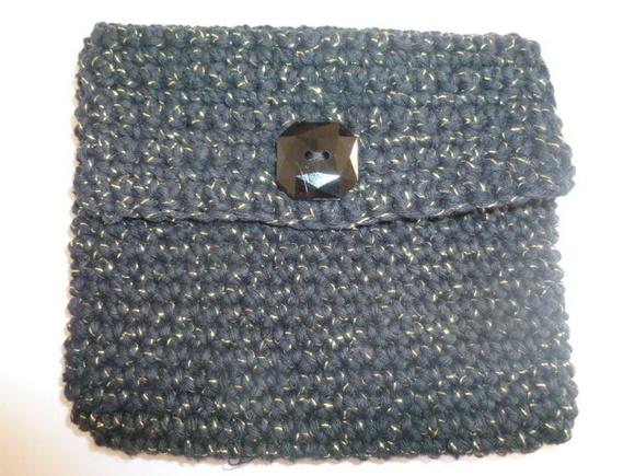 Bolsa De Mao Em Croche : Bolsa de m?o em croch? arte agora elo