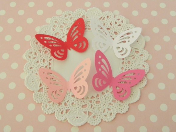 Aplique Valentine Butterfly (A48)