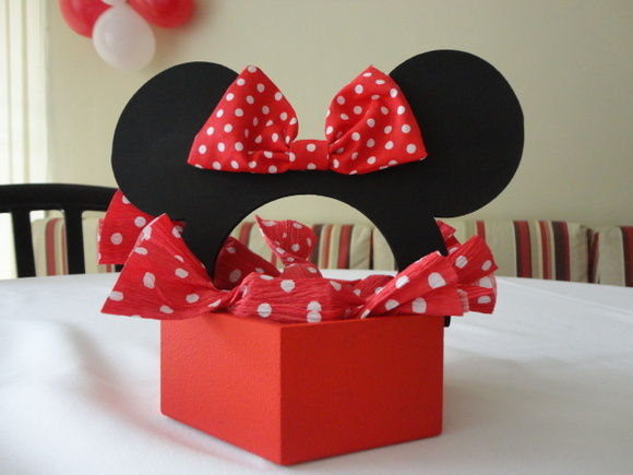 Cachepot Minnie e Mickey