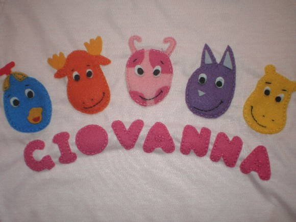 CAMISETA PERSONAGENS BACKYARDIGANS