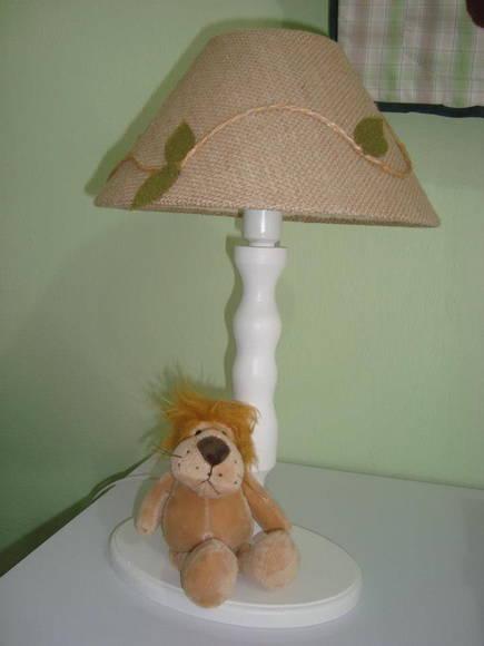 abajur para quarto de bebê tema safari juliana bressame  ~ Abajur De Parede Para Quarto Como Fazer