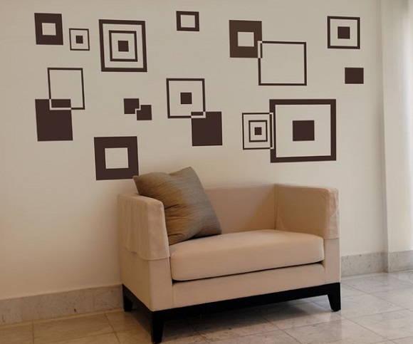 Armario Planejado Para Quarto Casal Pequeno ~ Adesivo decorativo de parede no Elo7 ADESIVOS COMPRAR E COLAR (1AAD58)