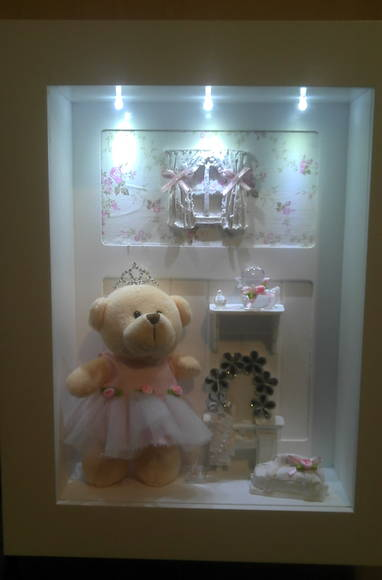 Enfeite de porta maternidade bailarina no elo7 atelier for Porta quadro da appoggio