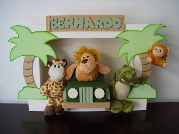 (DO 0049) Quadro decorativo safari