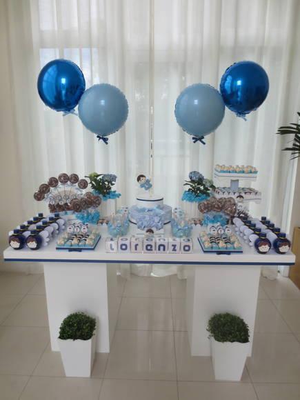 Decoraç u00e3o Batizado no Elo7 Ana Utino Decor Party (2FAD47) -> Decoração De Batizado Com Anjos Simples