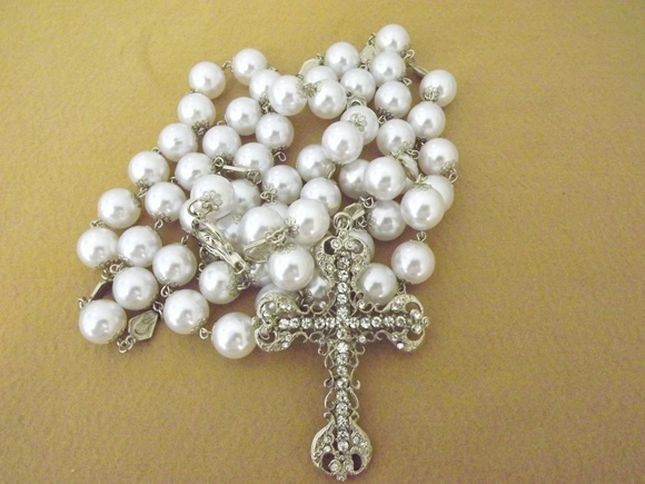 Rosary Pearl  Miraculous