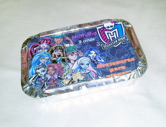 Marmitinhas MONSTER HIGH 250gr