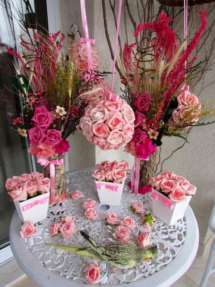 Mini Paper Flower Bouquet