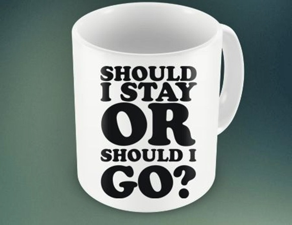 CANECA SHOULD I STAY ....93946