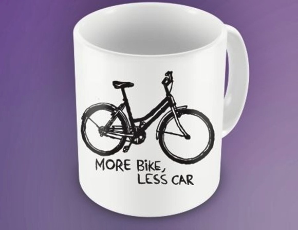CANECA MORE BIKE, LESS CAR - 93899