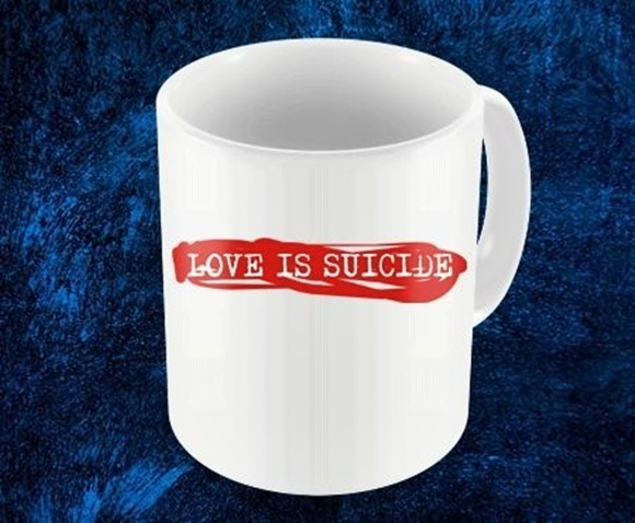 CANECA LOVE IS SUICIDE - 93883