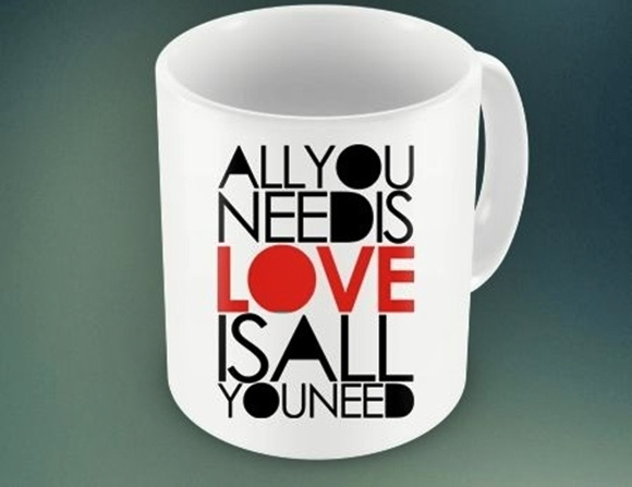 CANECA  ALL YOU NEEDIS LOVE ...93769