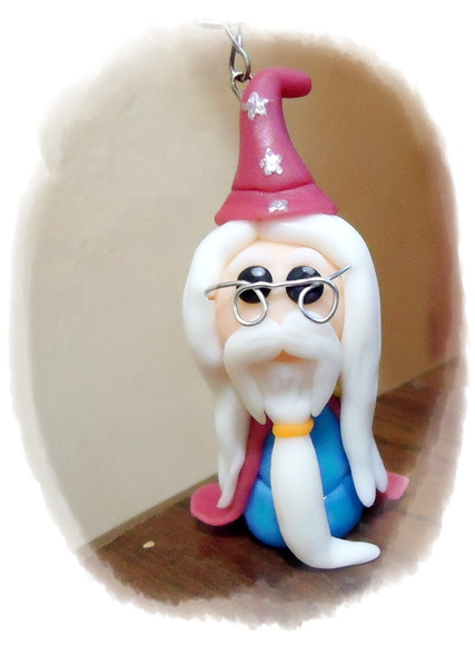 Chaveiro Dumbledore do Harry Potter