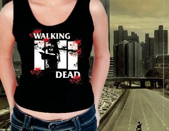 REGATA FEMININA THE WALKING DEAD-93581