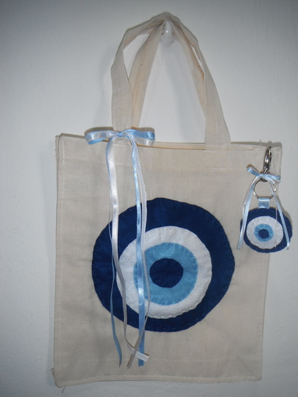 Kit eco bag e chaveiro