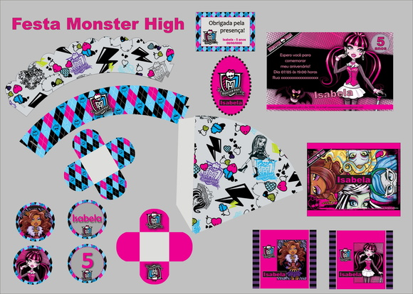 Monster Hight - Kit digital