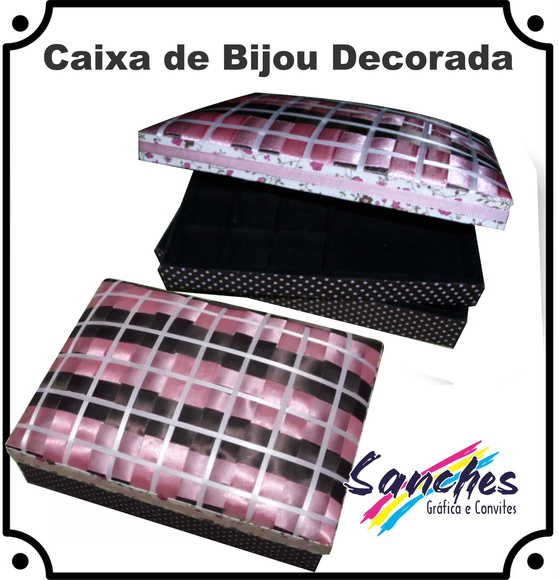 Caixa Decorada de Bijuterias | SANCHES