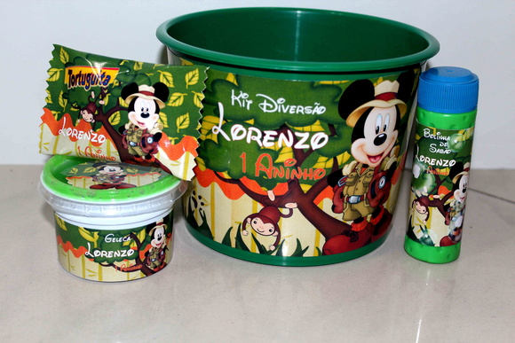 Kit Diversão Mickey Safari