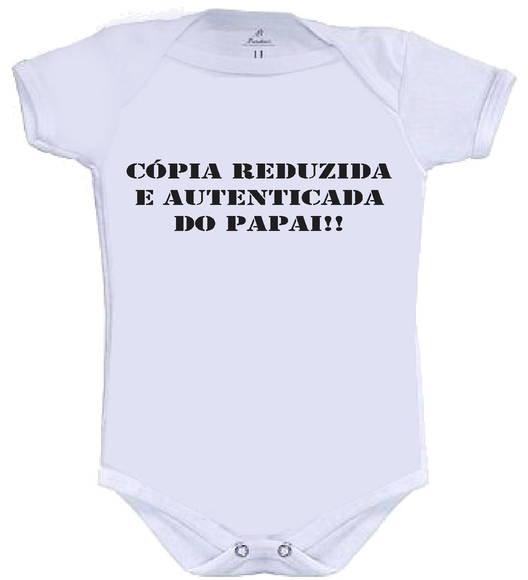 Body ou camisetinha Cópia do Papai