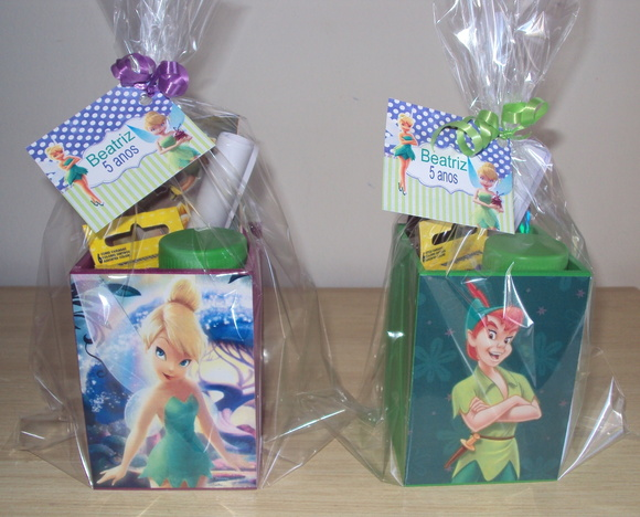 Kit Pintura Peter Pan e Tinker Bell