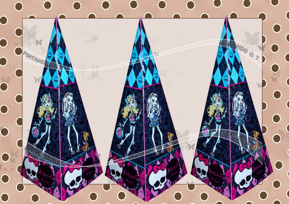 Cone Personalizado Monster High
