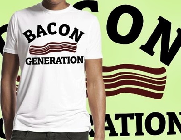 CAMISETA MASCULINA BACON GENERATION62623