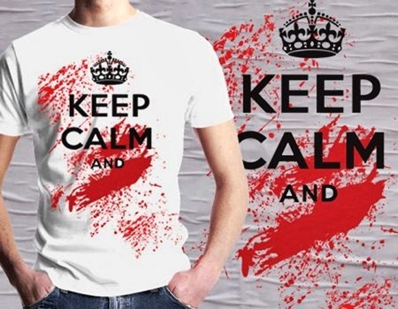 CAMISETA MASCULINA KEEP CALM .. 92168