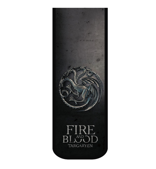Marcador De Livro Fire and Blood
