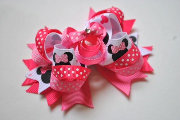 Laço de Boutique Minnie Pink Luxo