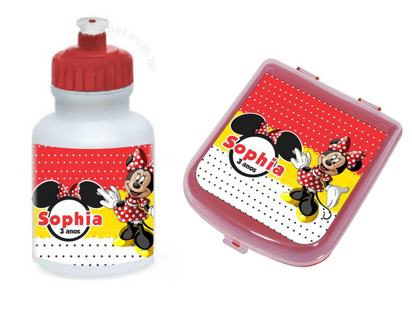 Kit Lanche - Minnie