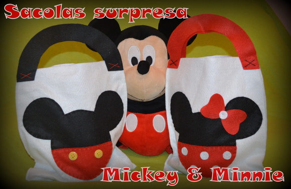 Sacola surpresa Mickey & Minnie