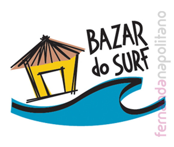 Logotipo criado para Bazar do Surf