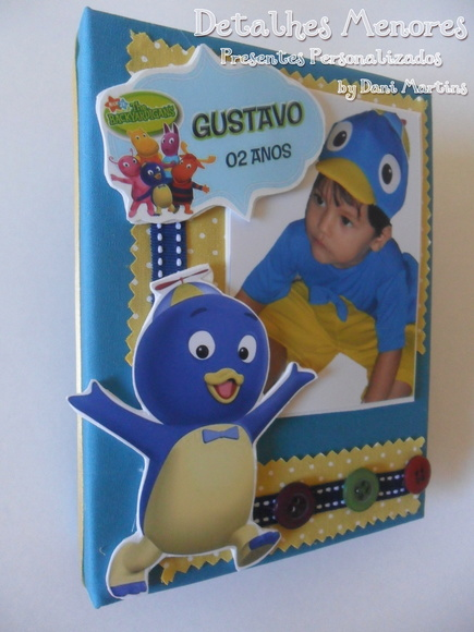 Álbum De Fotos - Backyardigans - Pablo