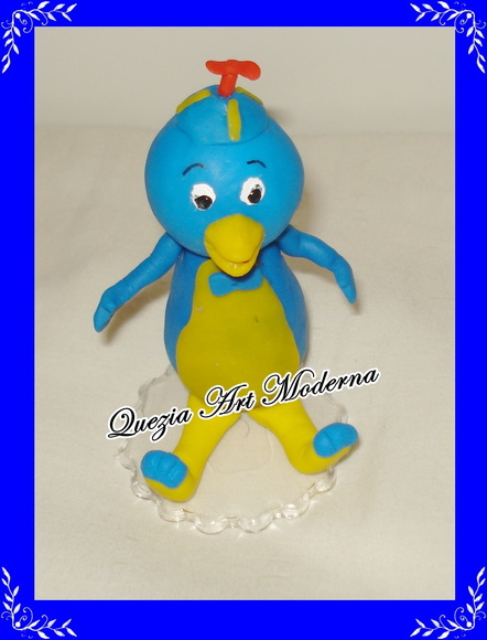 Topo de bolo Pablo do Backyardigans