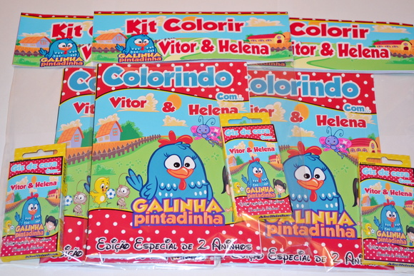 Revista Kit de Colorir