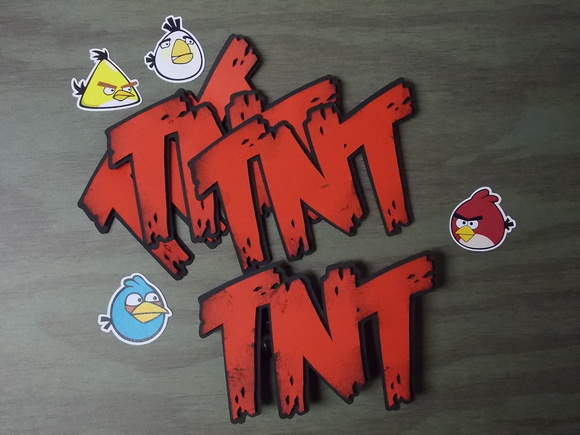 TNT Angry Birds [label]